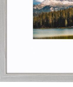 Wissellijst hout F224 Wit eiken fineer