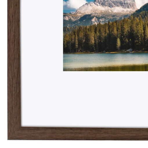 Wissellijst hout F229 Walnoot fineer