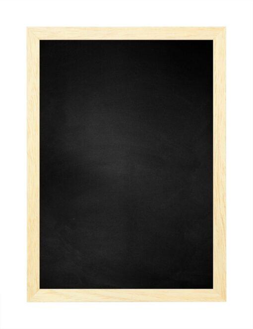Krijtbord met houten lijst - Blank ongelakt - 15mm