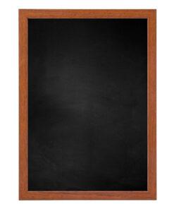 Krijtbord met houten lijst - Kersen - 15mm
