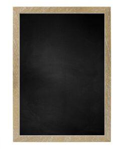 Krijtbord met houten lijst - Vergrijsd - 15mm