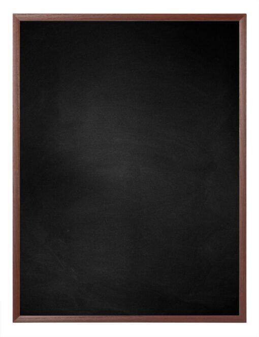 Krijtbord met aluminium lijst - Kersen - 10mm