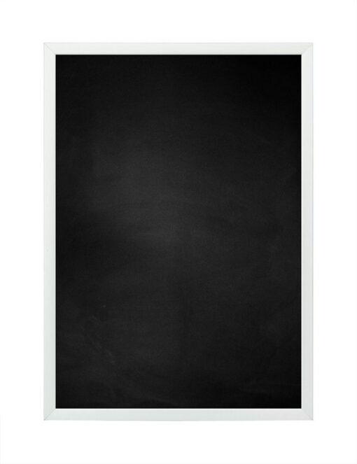 Krijtbord met aluminium lijst - Mat zilver - 10mm