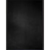 Krijtbord met aluminium lijst - Mat zwart - 10mm