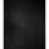 Krijtbord met aluminium lijst - Wit eik - 10mm