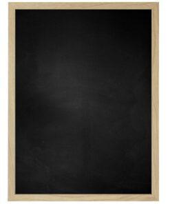 Krijtbord met houten lijst - Natuur Eik - 15mm