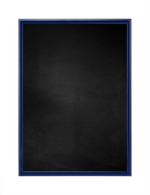 Krijtbord met aluminium lijst - Blauw - 10mm