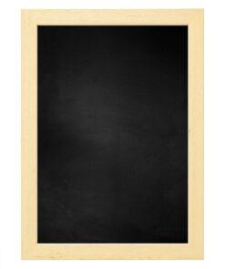 Krijtbord met houten lijst - Blank ongelakt - 20mm