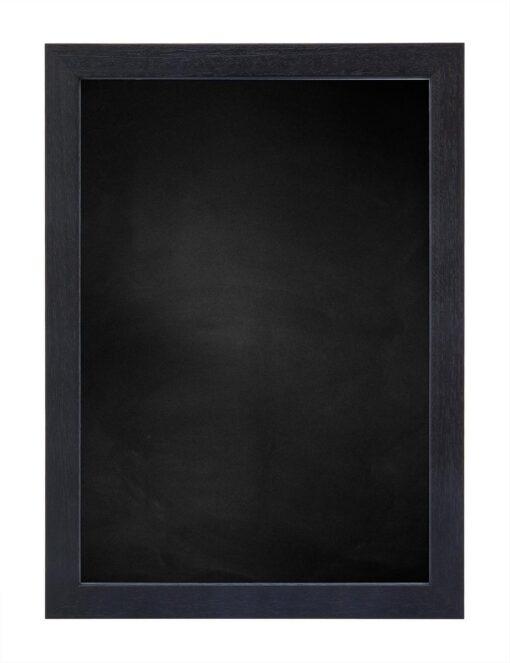 Krijtbord met houten lijst - Zwart ingewassen - 20mm