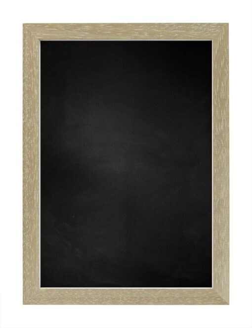 Krijtbord met houten lijst - Vergrijsd - 20mm