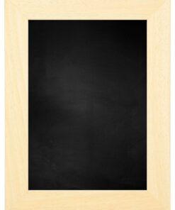 Krijtbord met houten lijst - Blank ongelakt - 39mm