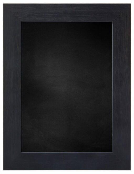 Krijtbord met houten lijst - Zwart ingewassen - 39mm