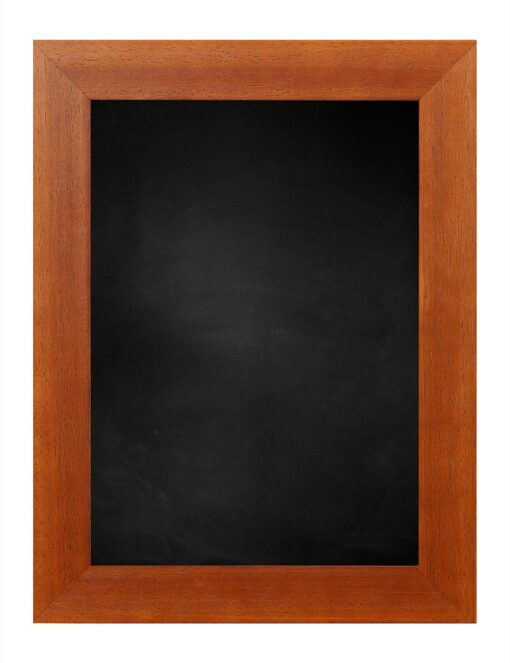 Krijtbord met houten lijst - Kersen - 39mm