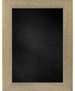 Krijtbord met houten lijst - Vergrijsd - 39mm