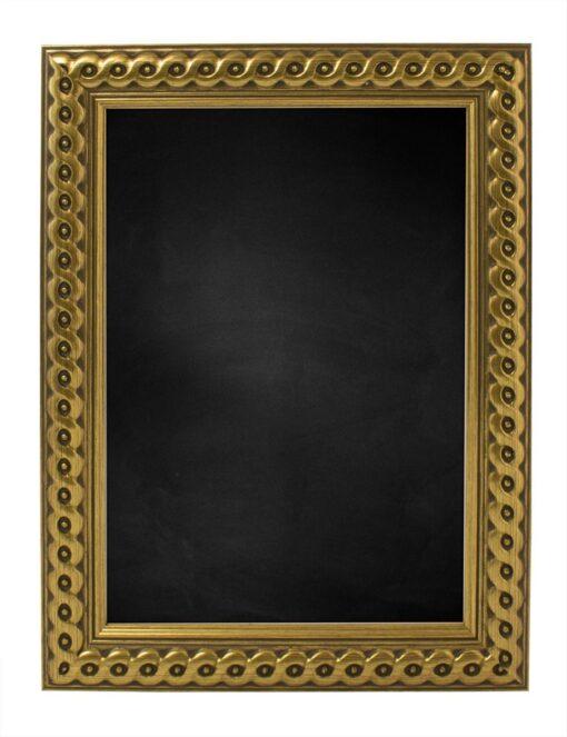 Krijtbord met houten lijst - Goud - 30mm