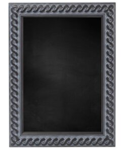 Krijtbord met houten lijst - Oud Zwart - 30mm