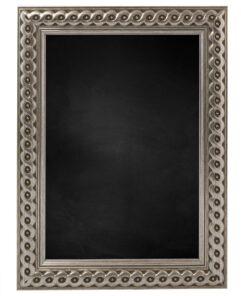 Krijtbord met houten lijst - Zilver - 30mm