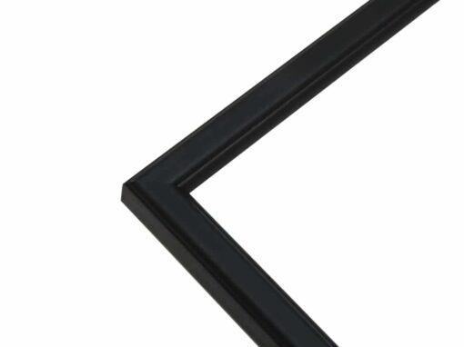 Staal - Smalle houten fotolijst in zwart